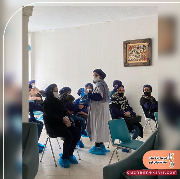 جلسه آموزشی ماساژ درمانی